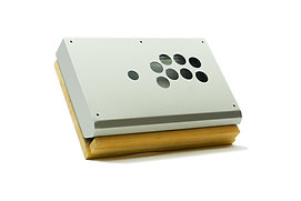 Metallic Silver Fight Stick CASE