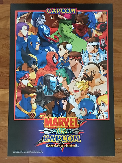 Marvel Vs. Capcom Poster B2 Size