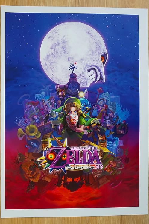 The Legen Of Zelda: Majora's Mask Poster B2 Size