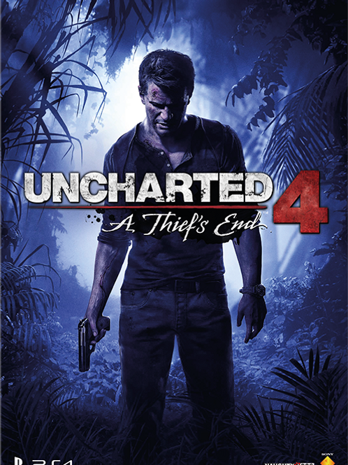 Uncharted 4 Poster B2 Size