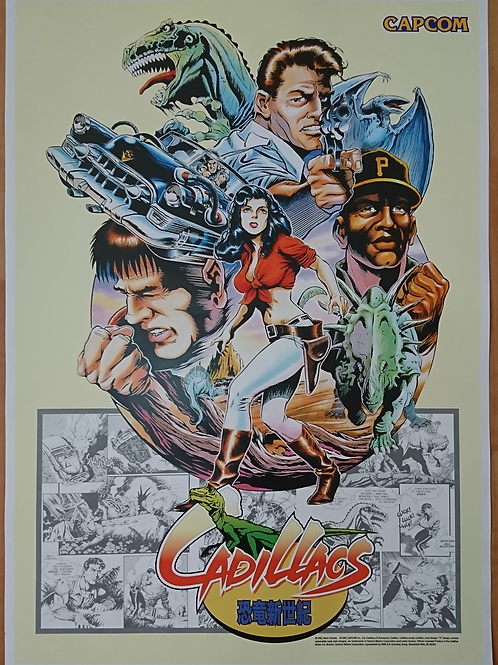 Cadillacs And Dinosaurs JPN Poster B2 Size
