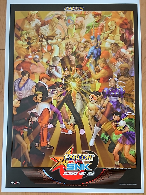 Capcom Vs. SNK Poster B2 Size