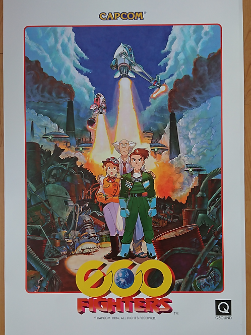 Eco Fighters Poster B2 Size