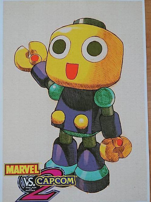 Marvel Vs. Capcom - Kobun Poster B2 Size
