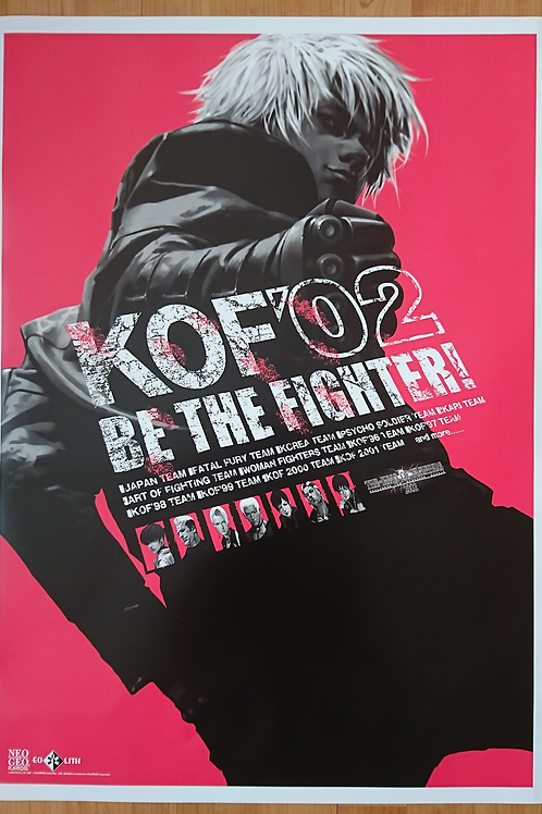 King Of Fighters 2002 Poster B2 Size