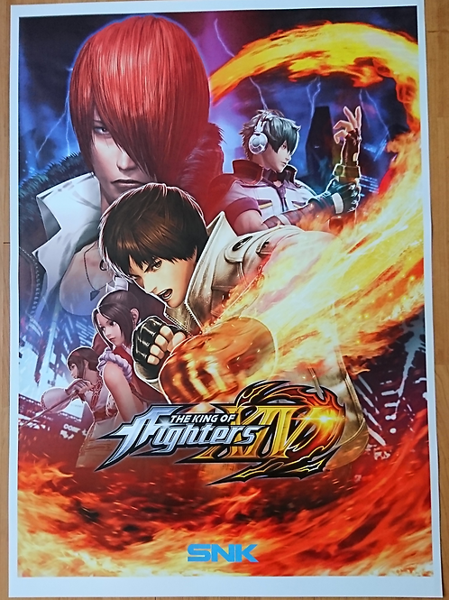 King Of Fighters XIV Poster B2 Size