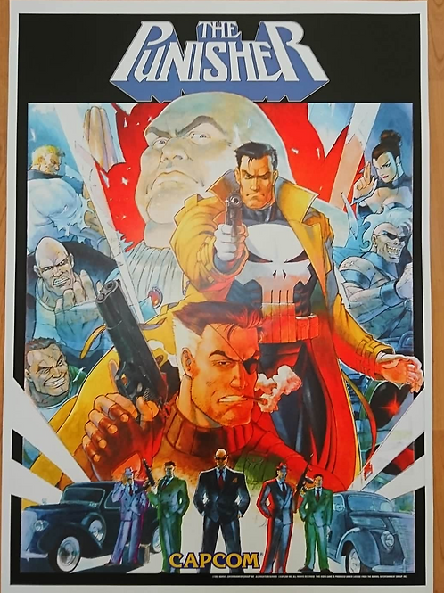 Punisher Poster B2 Size