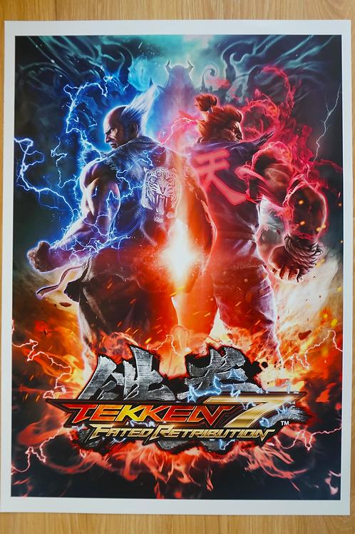 Tekken 7 Poster B2 Size