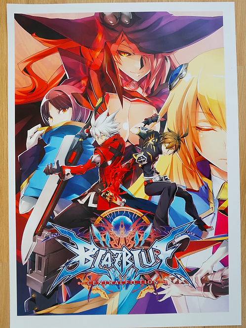 Blazblue Central Fiction Poster B2 Size