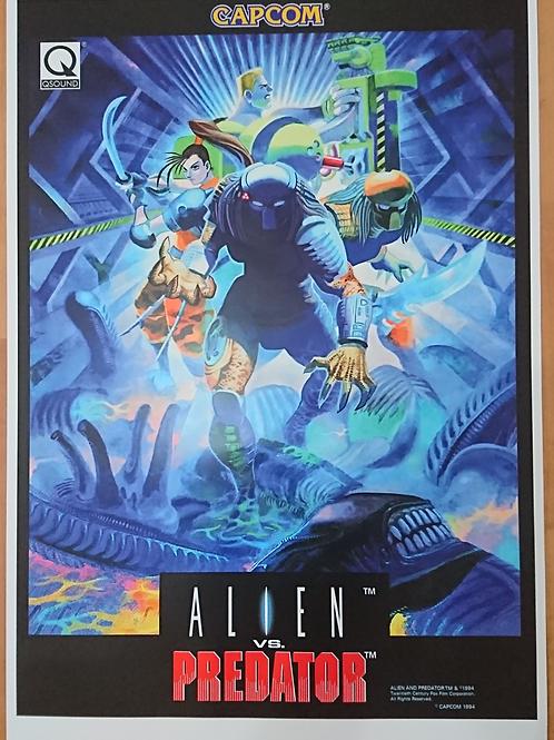 Alien Vs. Predator Remastered Poster B2 Size