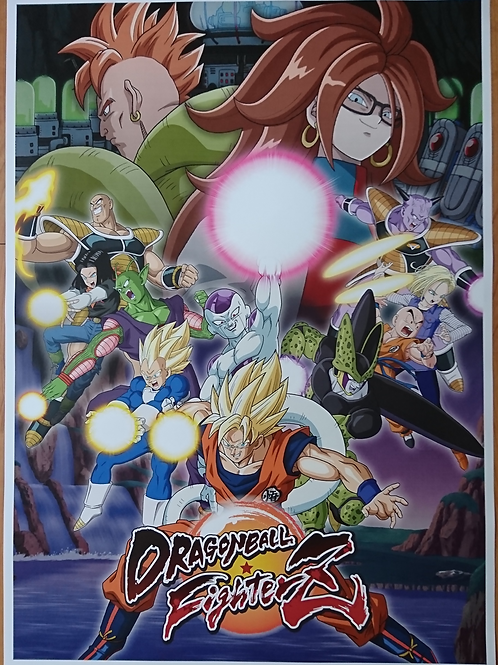 Dragonball FighterZ Poster B2 Size