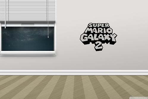 Super Mario Galaxy 2 Game Logo Metal Wall Decor