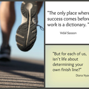 Endurance to Cross Your Own Finish Line