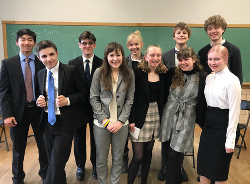 Mock Trial challenges students