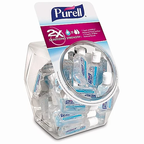 Purell Advanced Hand Sanitizer, 36 1oz Bottles with Display Bowl