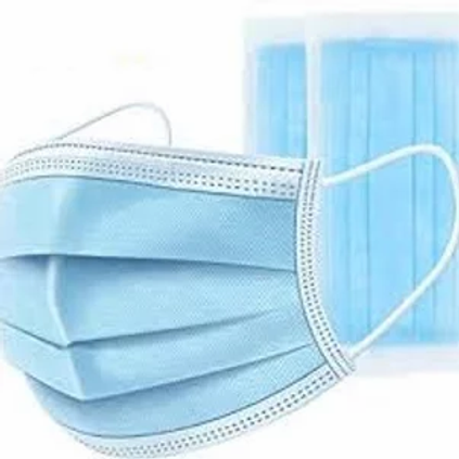 150 Disposable Face Masks - 3 Ply - Breathable
