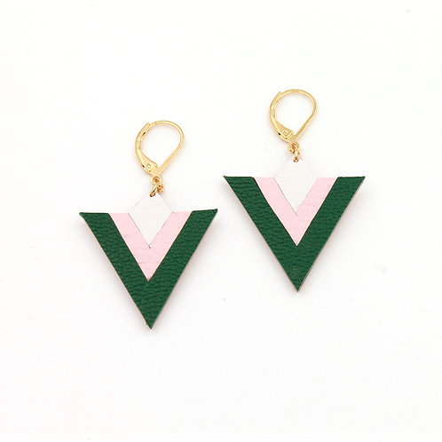 Vert / Rose / Blanc