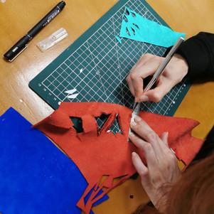 Atelier bijoux en cuir