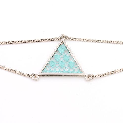Turquoise clair / Argent