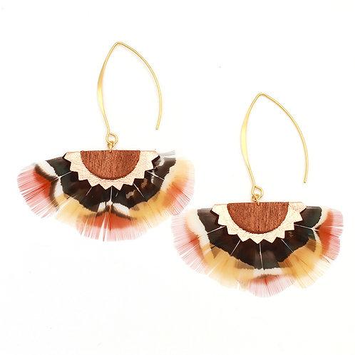 Boucles d'oreilles Sava