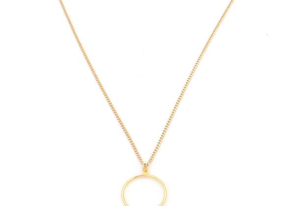 Collier doré à l'or fin, bijoux de créateur, made in France