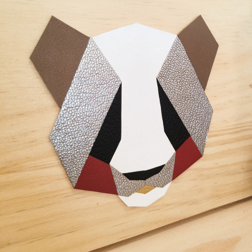 Tableau panda KDYAK l'artisane