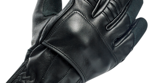 BILTWELL BELDEN MENS LEATHER BLK GLOVE