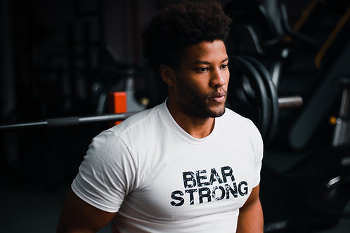 Bear Strong White T Shirt