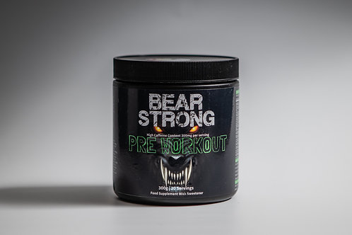 Bear strong pre workout