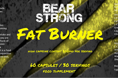 Bear Strong Fat Burners 60Tab