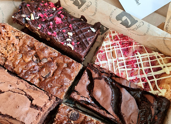 Mixed Brownie and Blondie Box