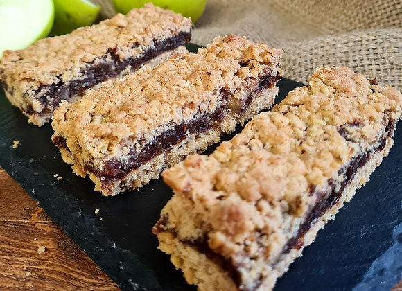Apple and Date Crumble Slice (GF, V)