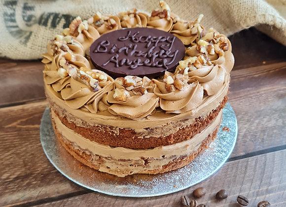 Classic Coffee Cake £22.50