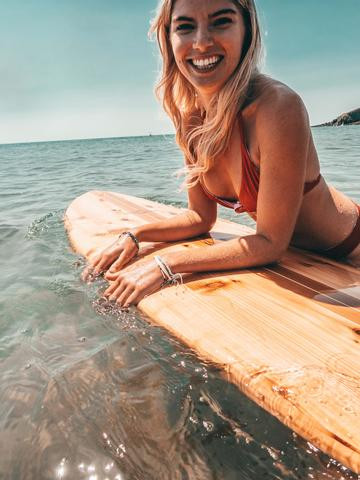 The Eco-Friendly Surf Ware Brands Every Conscious Shopper Needs to See. Pineapple Island X Lignum.