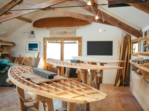 New Wave: how Lignum's wooden surfboards are true feats of engineering - Spherelife