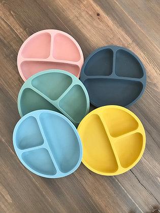 Assiette de silicone