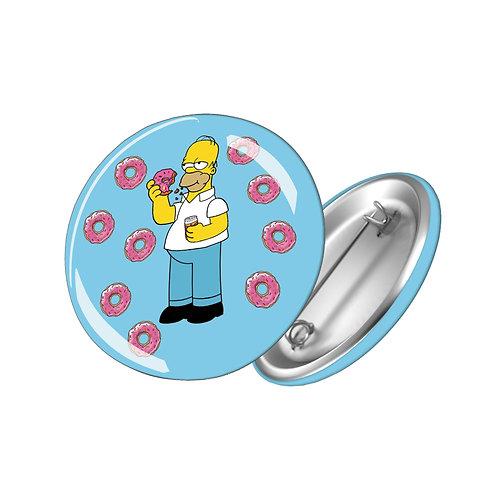 """Значок """"Гомер пончик"""""""