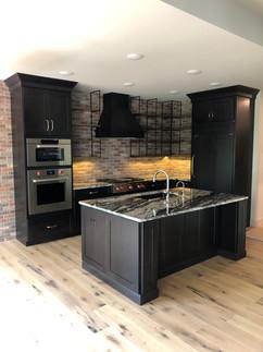 Black Out Kitchen