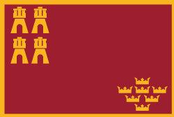 Insignia Bandera de Murcia