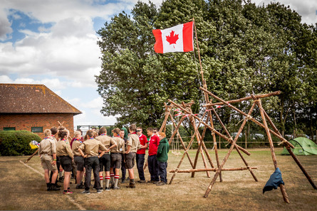 Nuestro vecinos los Canadienses visitados por los daneses