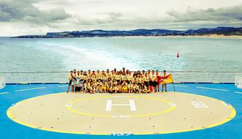 Grupal Popa Ferry - Eurocamp18 - G. Scou