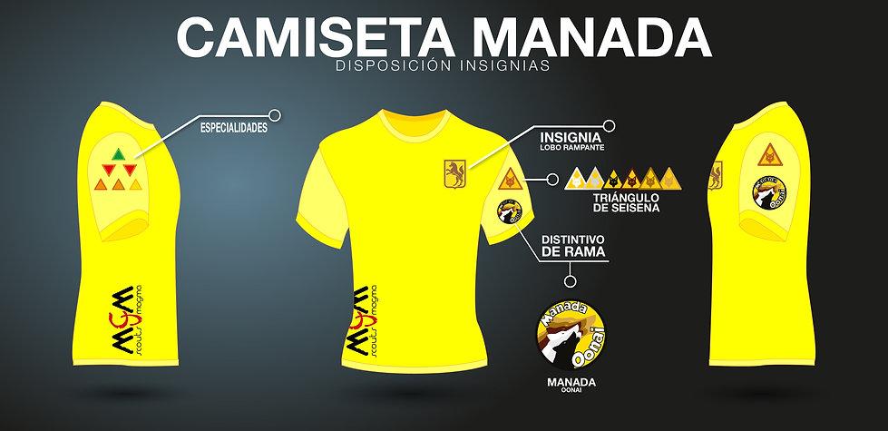 Camiseta Manada Oonai 2019 - G. Scout Ma