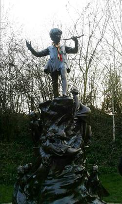 Estatua Peter Pan (Hyde Park, Londres) - Viaje comandos 2015 - Scouts Magma