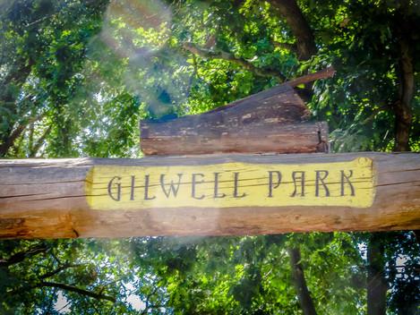 Entrada de Gilwell Park - Leopard Gate