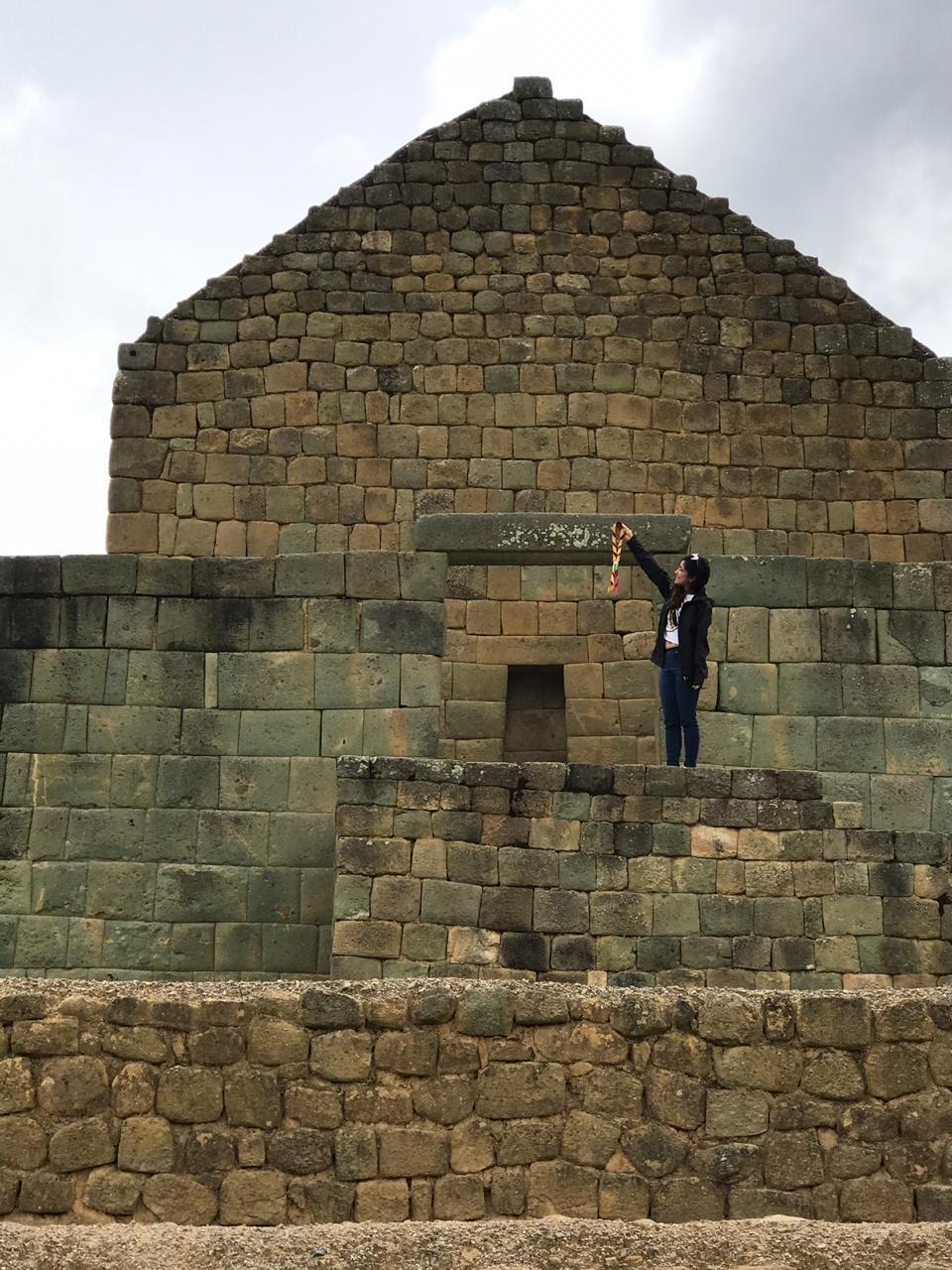 Ruinas Incas de Ingapirca - Templo del S