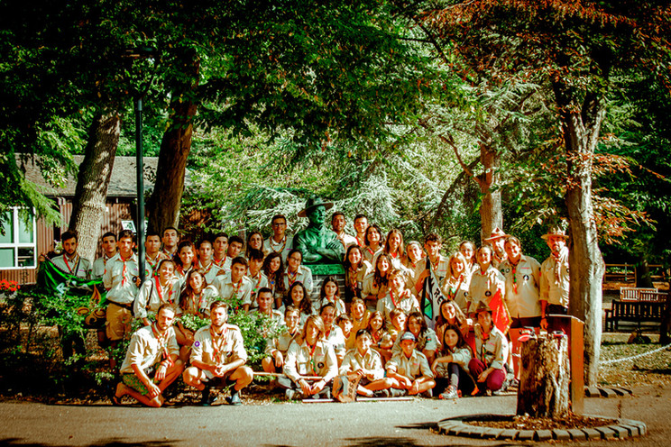Busto BP GILWELL - Eurocamp18 - G,Scout
