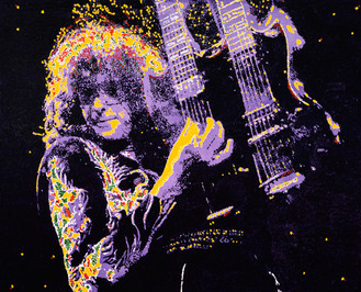 LED ZEPPELIN'S JIMMY PAGE