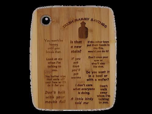 Personalised Wooden Board