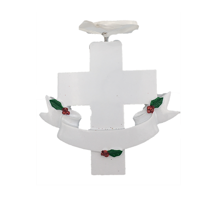 Holy Cross Christmas Tree Ornament