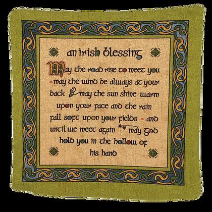 An Irish Blessing Cushion Cover